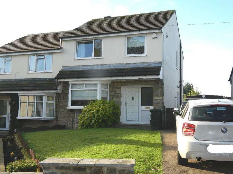 3 Bedrooms Semi Detached House for sale in Fagley Croft, Fagley, Bradford, BD2 3JQ