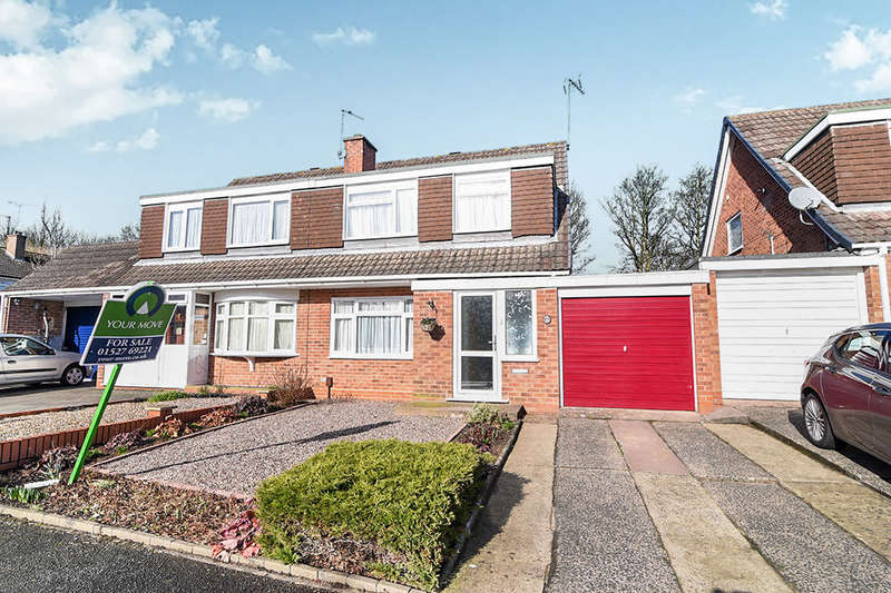 3 Bedrooms Semi Detached House for sale in Bodenham Close, Winyates West, Redditch, B98