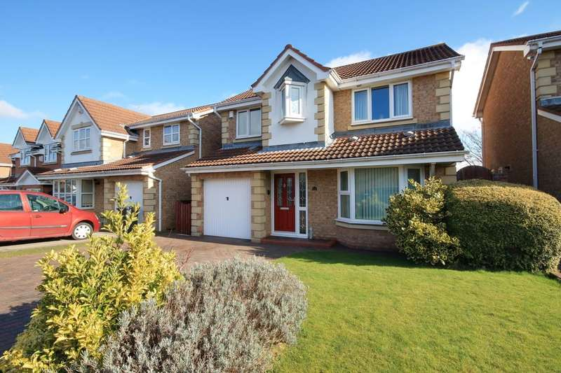 4 Bedrooms Detached House for sale in Lesbury Close, Chester Le Street, DH2