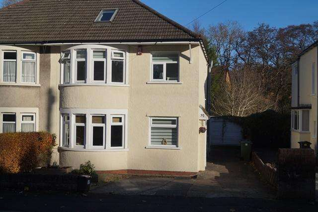 4 Bedrooms Semi Detached House for sale in Crystal Glen, Heath, Heath, Cardff CF14