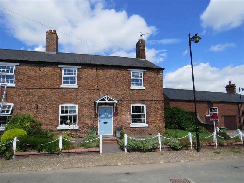 4 Bedrooms Semi Detached House for sale in Wharf Road, Ellesmere, SY12