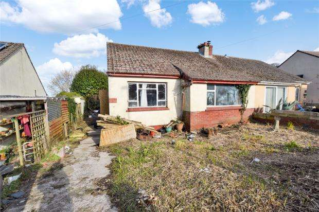 2 Bedrooms Semi Detached Bungalow for sale in Southdown Avenue, Brixham, Devon
