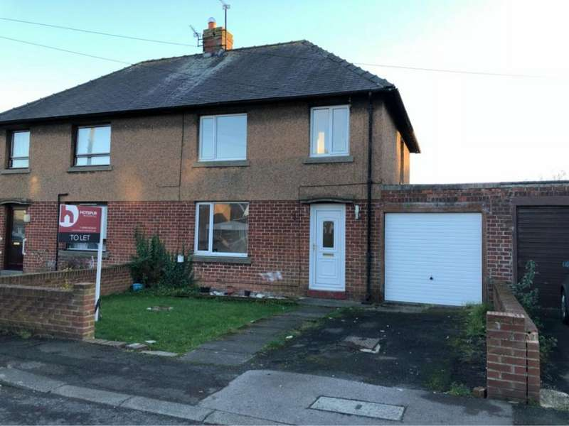 3 Bedrooms Semi Detached House for rent in Greensfield Avenue, Alnwick, Northumberland, NE66
