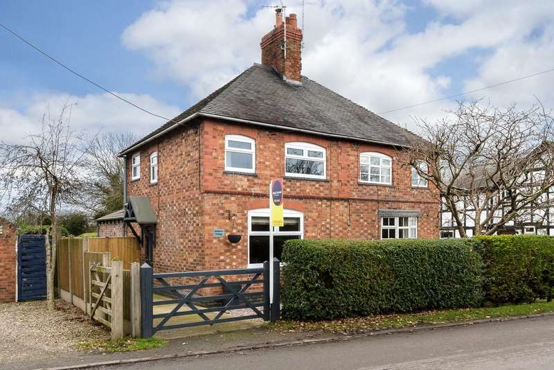 2 Bedrooms Cottage House for sale in Burland, Cheshire