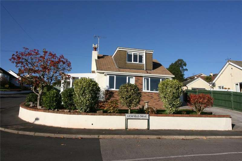 2 Bedrooms Detached Bungalow for sale in Lichfield Drive, Brixham, TQ5