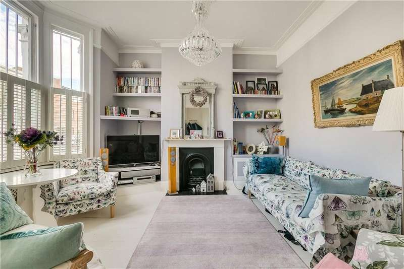 4 Bedrooms Terraced House for sale in Anselm Road, London, SW6