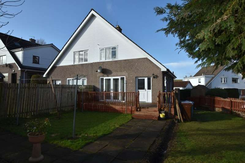 2 Bedrooms Semi Detached House for sale in Lincoln Avenue, Uddingston, Glasgow, G71