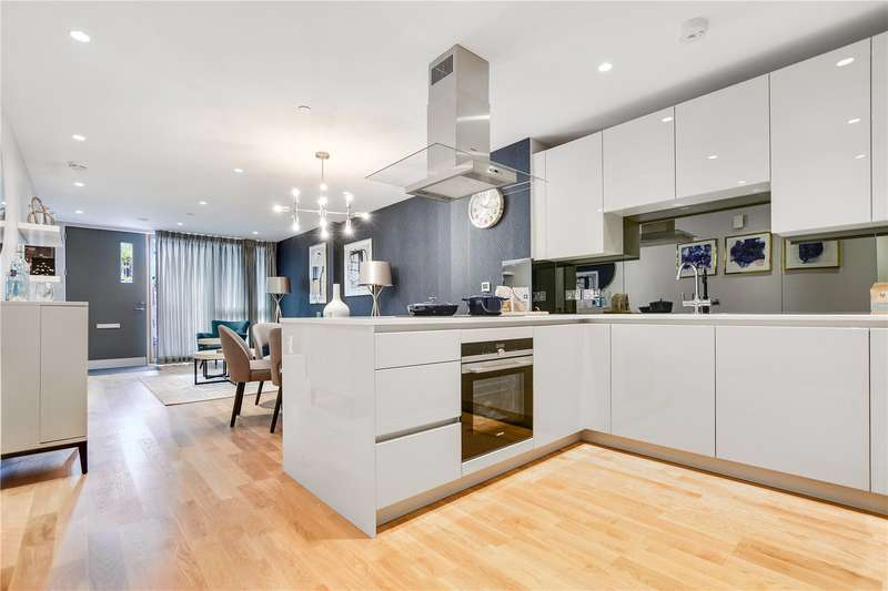 2 Bedrooms Flat for sale in Cursham Apartments, 20 Fergusson Me, London, SW9