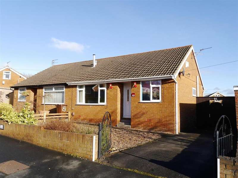 2 Bedrooms Semi Detached Bungalow for sale in Caldene Avenue, Low Moor, Bradford, BD12 0JP