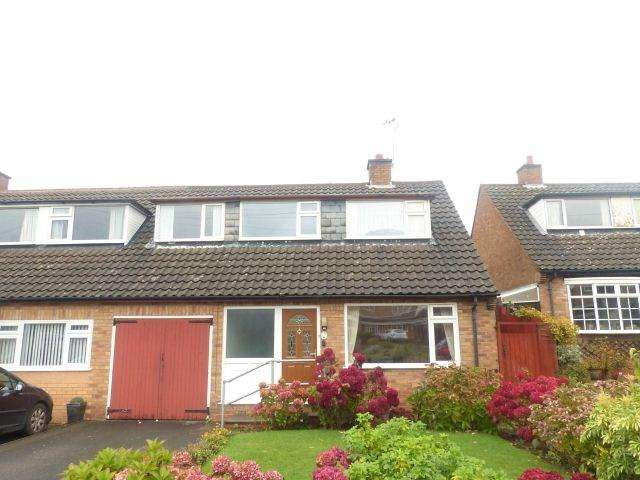 3 Bedrooms Semi Detached House for sale in Homestead Drive, Four Oaks