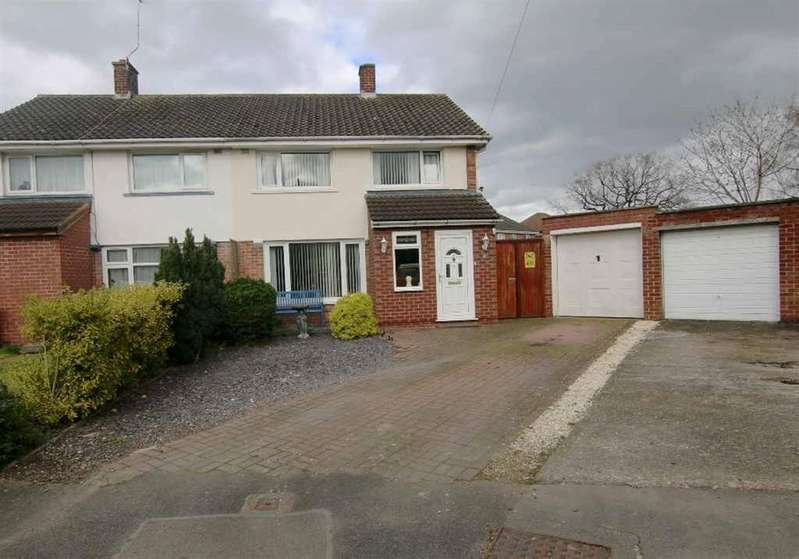 3 Bedrooms Semi Detached House for sale in Aughton Way, Broughton