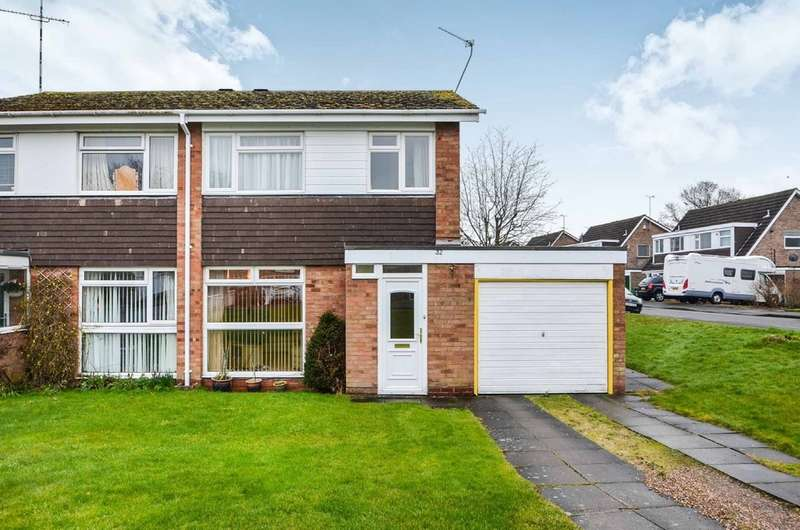 3 Bedrooms Semi Detached House for sale in Weston Close, Dunchurch, Rugby