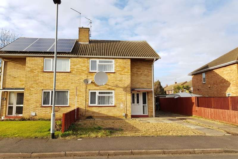3 Bedrooms Semi Detached House for sale in Campion Road, Dogsthorpe, Peterborough, PE1