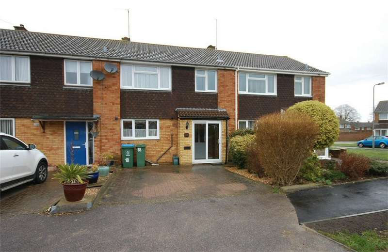3 Bedrooms Terraced House for sale in Woodstock Close, Aylesbury, Buckinghamshire