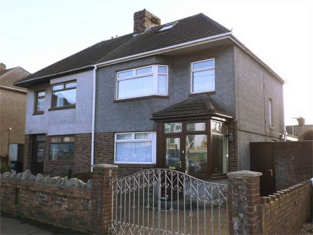 3 Bedrooms Semi Detached House for sale in Bertha Road, Port Talbot, West Glamorgan