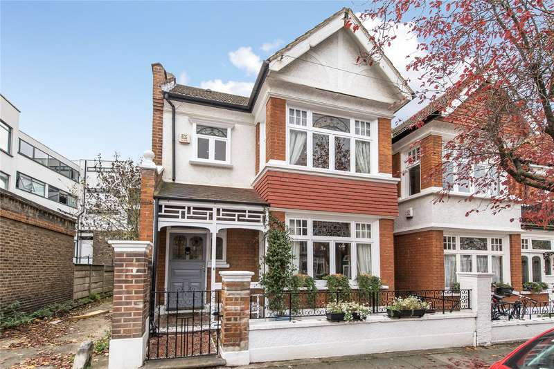 3 Bedrooms End Of Terrace House for sale in Strathmore Road, Southfields, London, SW19