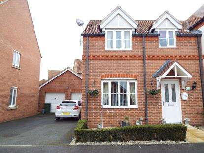 3 Bedrooms Semi Detached House for sale in Heacham, Kings Lynn, Norfolk