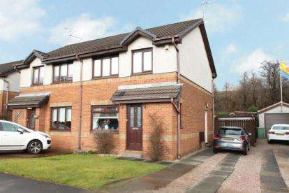 3 Bedrooms Semi Detached House for sale in Duntreath Gardens, Drumchapel, Glasgow