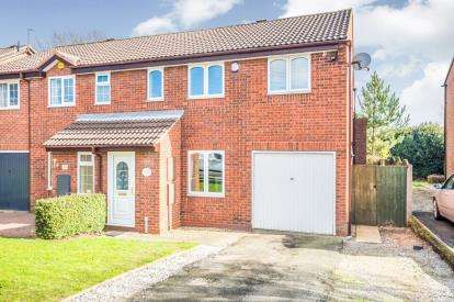 3 Bedrooms Semi Detached House for sale in Swynnerton Drive, Essington, Wolverhampton, West Midlands