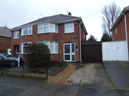 3 Bedrooms Semi Detached House for sale in Lymington Road, Leicester, Leicestershire