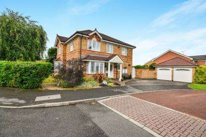 4 Bedrooms Detached House for sale in Wharfdale Gardens, Mansfield, Nottingham, Nottinghamshire