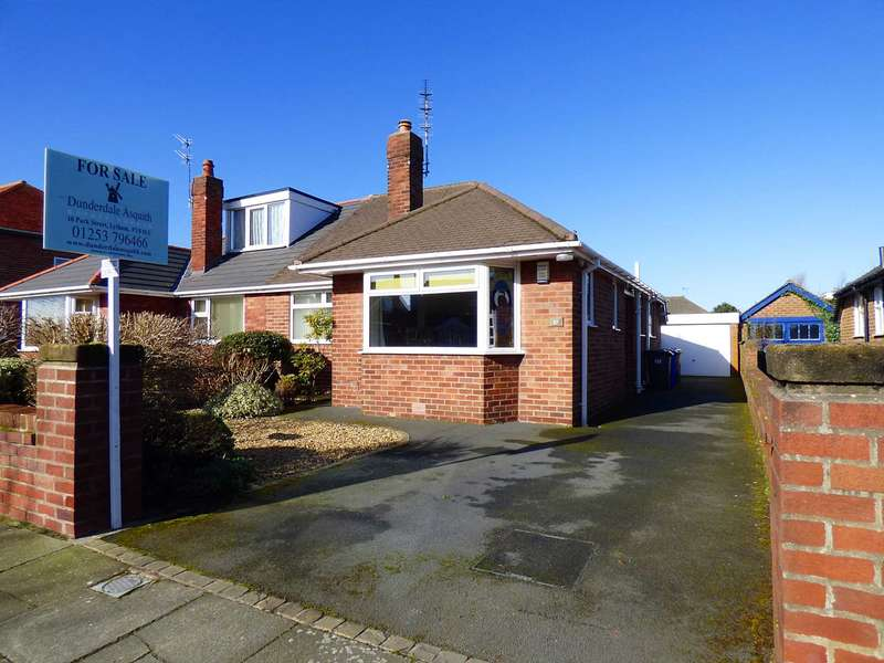 3 Bedrooms Semi Detached Bungalow for sale in Kenilworth Road, St Annes
