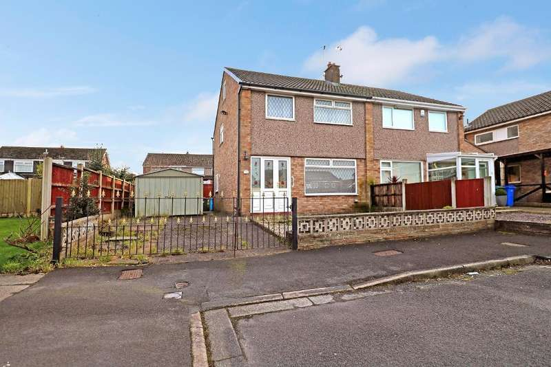 3 Bedrooms Semi Detached House for sale in Malin Close, Hale Village, Liverpool, L24 5RU