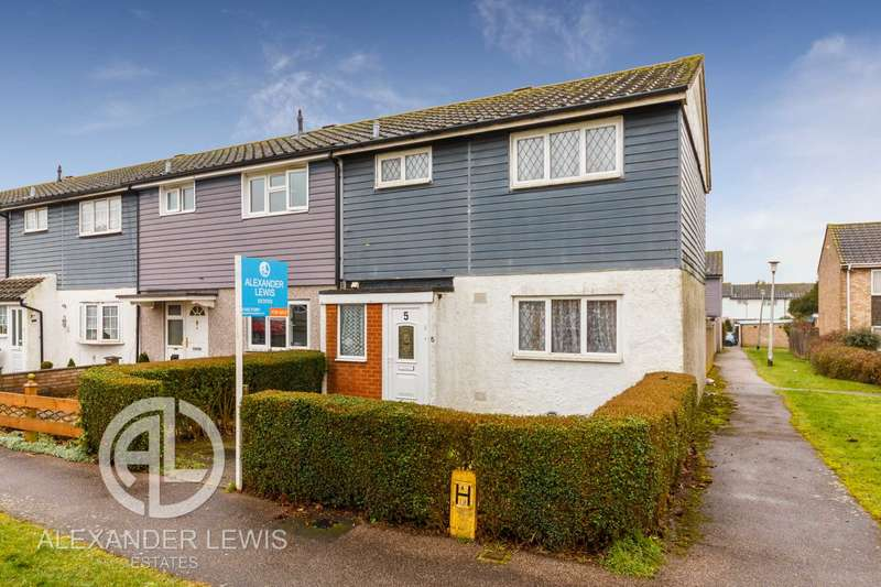 3 Bedrooms End Of Terrace House for sale in Kyrkeby, Letchworth, SG6 2PA