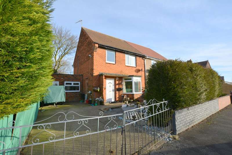 3 Bedrooms Semi Detached House for sale in Hardwick Avenue, Glapwell, Chesterfield, S44
