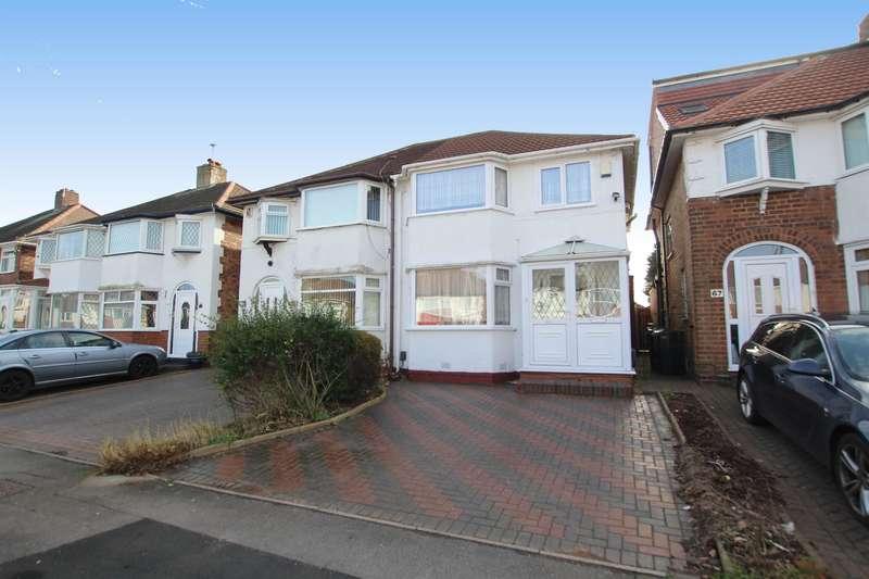 3 Bedrooms Semi Detached House for sale in Hansons Bridge Road, Birmingham, B24 0PE