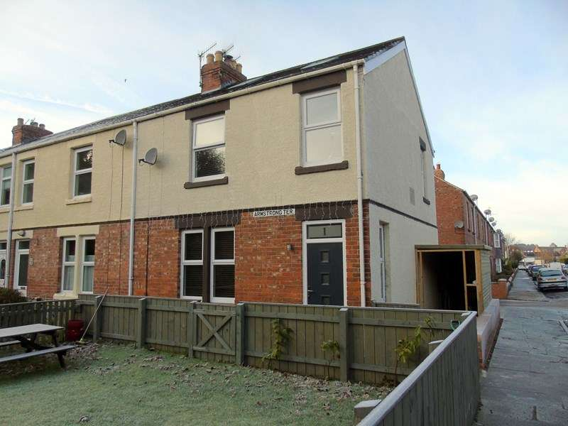3 Bedrooms Property for sale in Armstrong Terrace, Morpeth, Northumberland, NE61 1UP