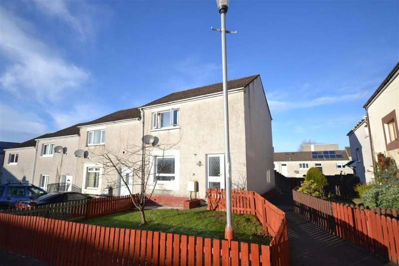 2 Bedrooms End Of Terrace House for sale in 154 Kincaidston Drive, Ayr, KA7 3YP