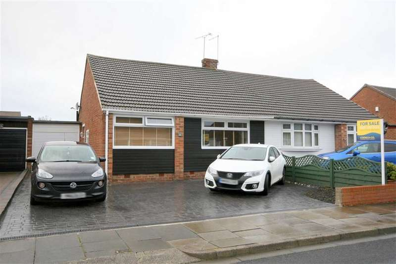 2 Bedrooms Semi Detached Bungalow for sale in Tilbury Grove, North Shields, NE30