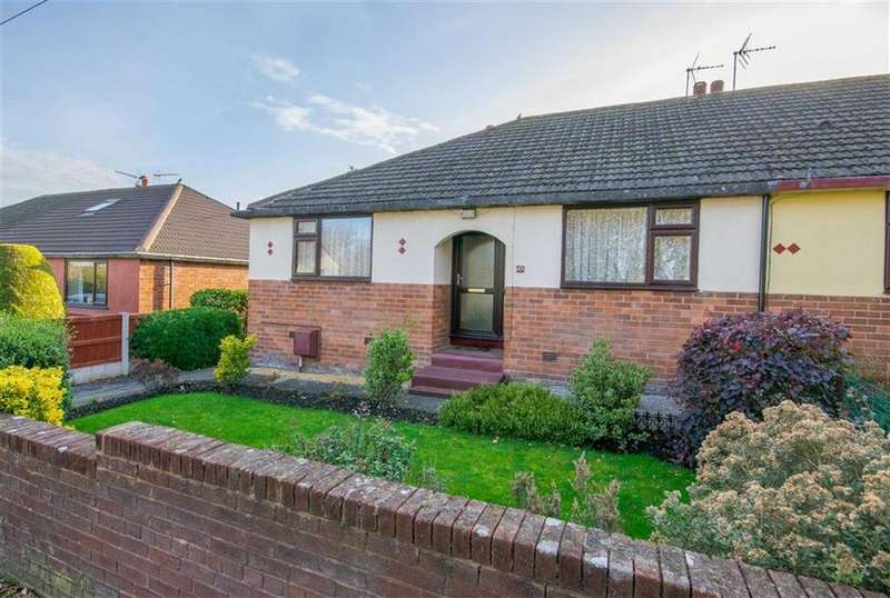 2 Bedrooms Semi Detached Bungalow for sale in Bryn Hilyn Lane, Mold