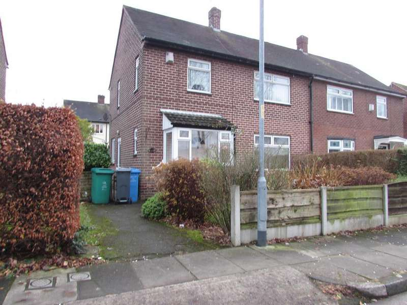 3 Bedrooms Semi Detached House for sale in Avebury Road, Baguley, Manchester, M23