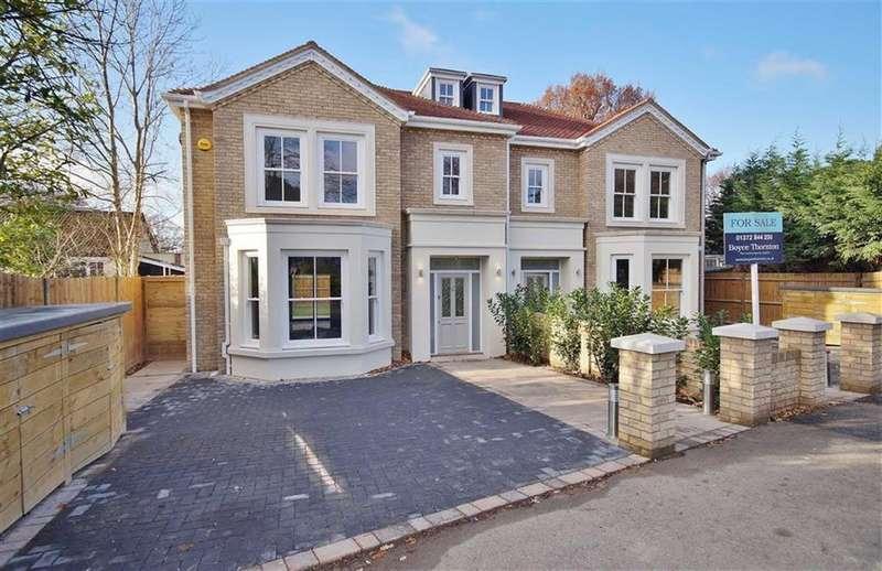 4 Bedrooms Detached House for sale in Oakshade Road, Oxshott, Surrey, KT22