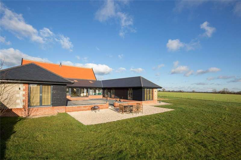 6 Bedrooms Barn Conversion Character Property for sale in Cherrytree Road, Tibenham, Norfolk, NR16