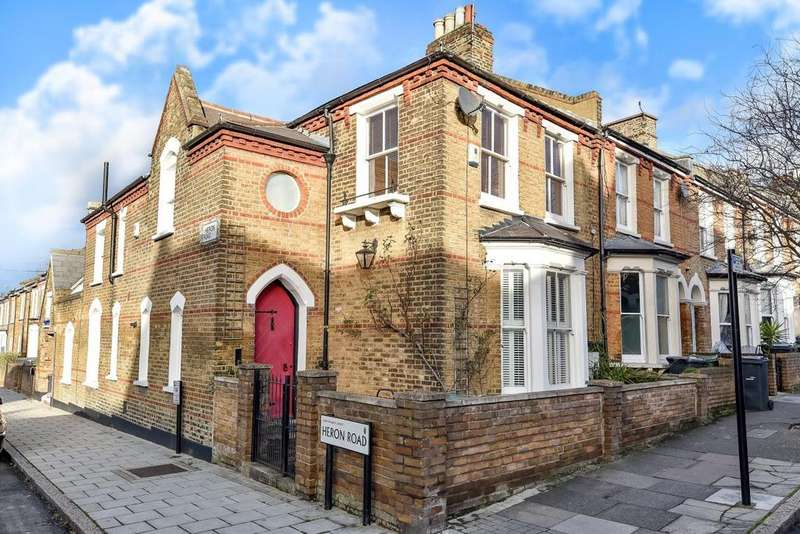 3 Bedrooms End Of Terrace House for sale in Lowden Road, Herne Hill