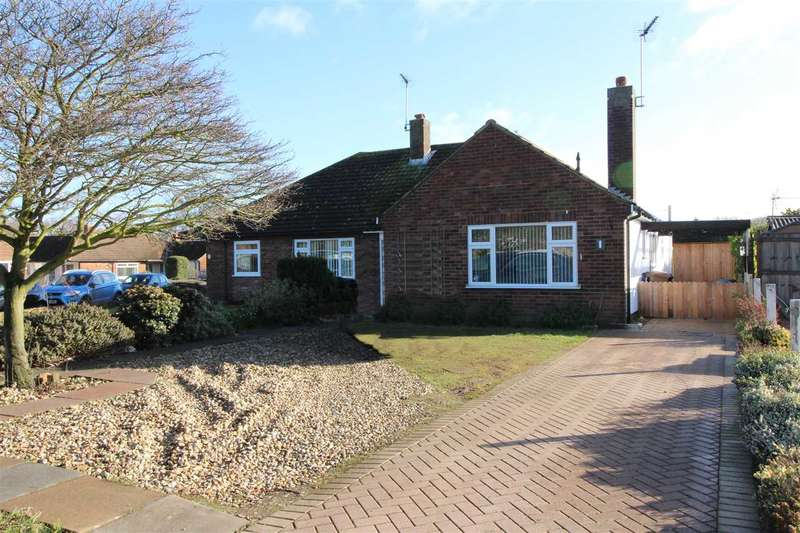3 Bedrooms Semi Detached Bungalow for sale in Sunningdale Avenue, Ipswich