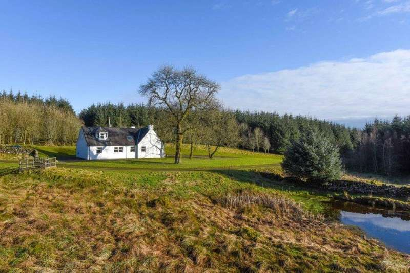 3 Bedrooms Detached House for sale in Glenview, Dunscore, Dumfries, Dumfries and Galloway, DG2