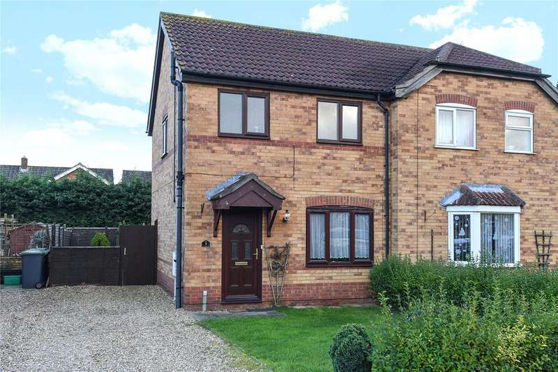 3 Bedrooms Semi Detached House for sale in Beechtree Close, Ruskington, NG34
