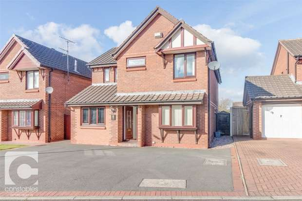 4 Bedrooms Detached House for rent in Darby Close, Little Neston, Cheshire