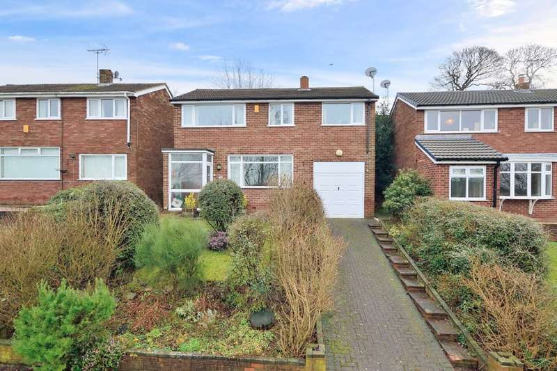 4 Bedrooms Detached House for sale in Penrith Close, Frodsham, WA6