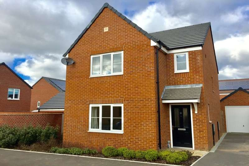3 Bedrooms Detached House for sale in Snaffle Way, Evesham, WR11