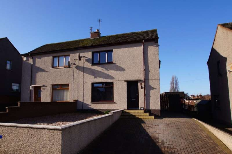 3 Bedrooms Semi Detached House for sale in Broom Crescent, Leven, KY8