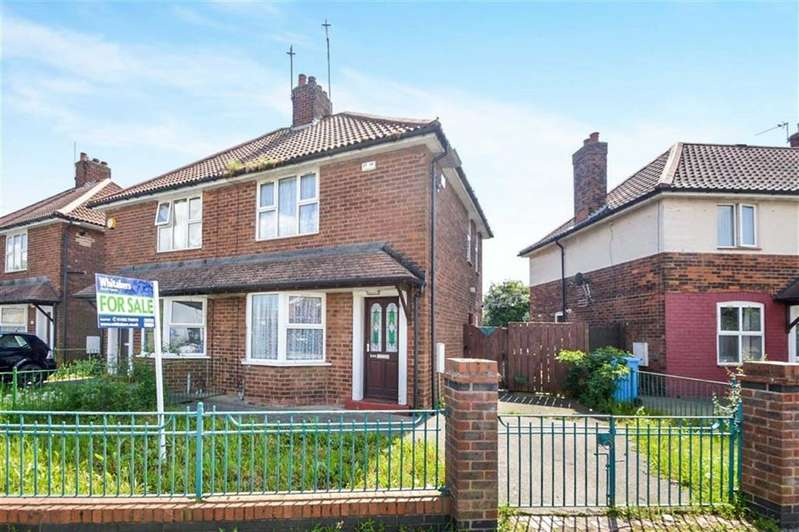 2 Bedrooms Semi Detached House for sale in Wingfield Road, Hull