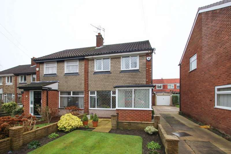 3 Bedrooms Semi Detached House for sale in Jura Drive, Davyhulme, Manchester, M41