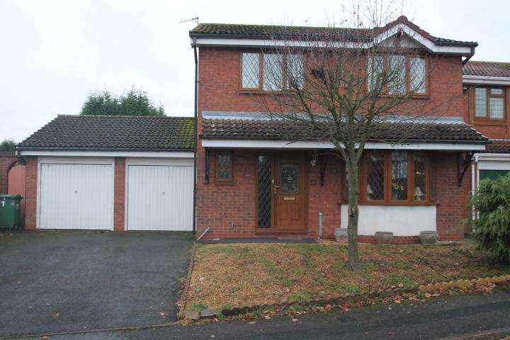 4 Bedrooms Detached House for sale in Montpellier Gardens, Dudley, DY1