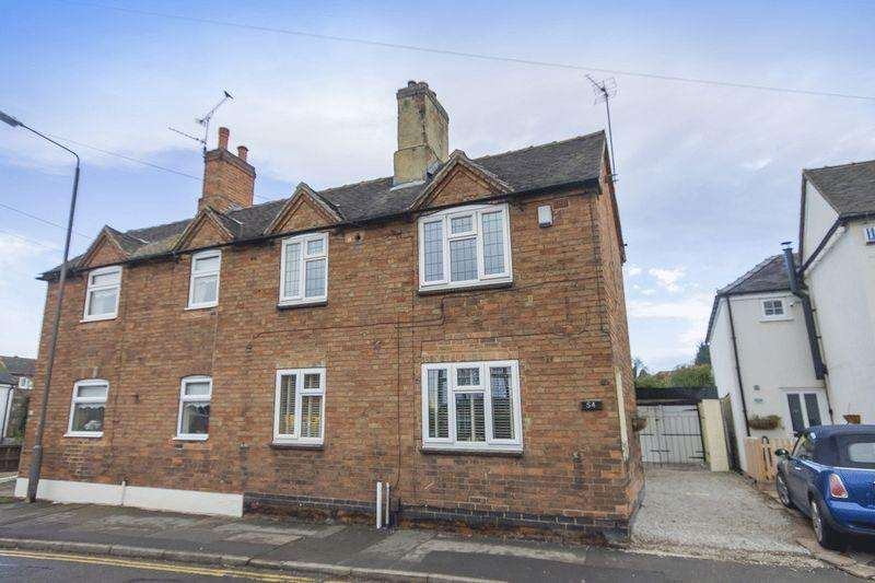 3 Bedrooms Semi Detached House for sale in Robincroft Road, Allestree