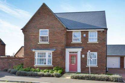 4 Bedrooms Link Detached House for sale in Illustrious, Brooklands, Milton Keynes